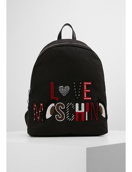 Patches Backpack   Rucksack by Love Moschino