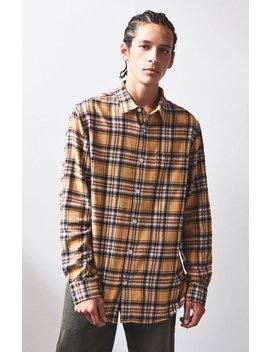 Pac Sun Pocket Plaid Flannel Shirt by Pacsun
