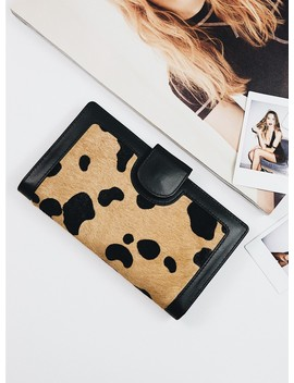 Status Anxiety Wild Cat Doris Wallet by Status Anxiety