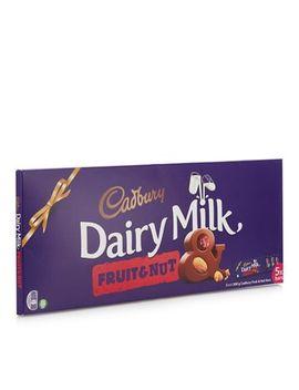 Cadburys   5 Pack Dairy Milk Fruit And Nut Chocolate Bars by Cadburys