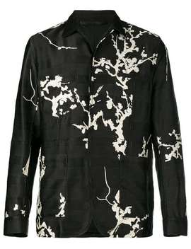 Floral Embroidered Shirt by Haider Ackermann