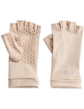 Coolibar Women's Fingerless Uv Gloves by Coolibar