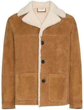 Trapper Shearling Jacket by Saint Laurent