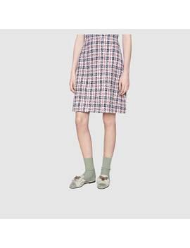 Pantolette Aus Leder Mit Schleife by Gucci