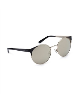 Guess Ladies Round Metal Sunglasses by Guess