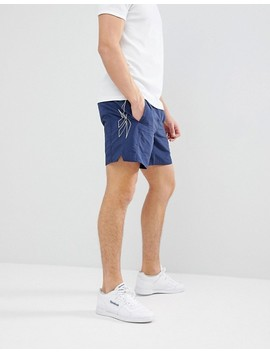 Reebok Woven Shorts In Navy Ce1859 by Reebok
