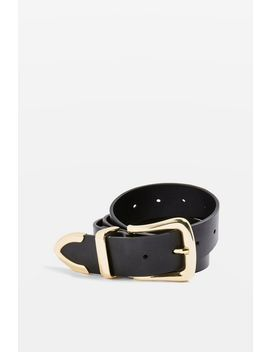 Clean Jeans Pu Belt by Topshop