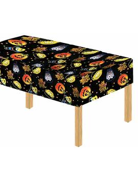 Davies 11789 Halloween Party Kürbis Hexe Kinder Tisch Bezug/Tischdecke–Abwischbar by Amazon