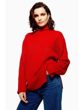 Roll Neck Jumper by Topshop