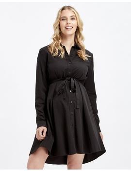 Woven Shirt Dress by Bamboo Body