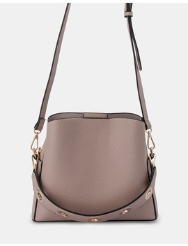Norah Eyelet Top Handle Bag by Olga Berg