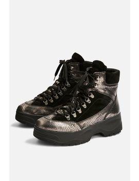 Ants Biker Boots by Topshop
