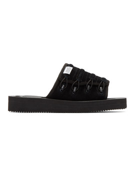 Black Mura Vs Sandals by Suicoke