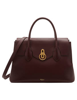 Mulberry Seaton Leather Satchel, Oxblood by Mulberry