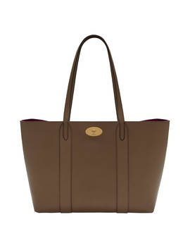 Mulberry Bayswater Leather Tote Bag, Clay by Mulberry