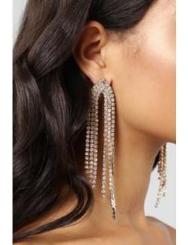 Drip Like This Earrings   Gold by Fashion Nova
