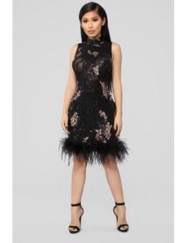 Beautiful Cherry Blossom Dress   Rose Gold by Fashion Nova