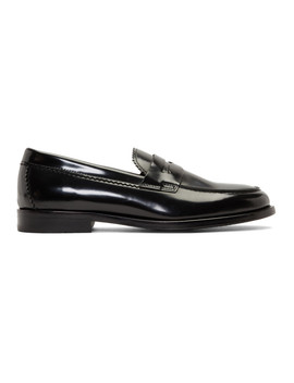 Black Patent Patty Loafers by Hope