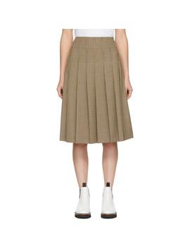 Beige Nina Skirt by A.P.C.