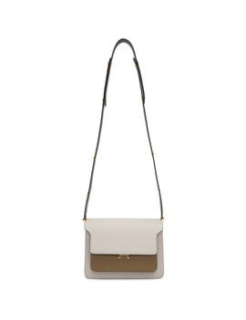 Tricolor Medium Trunk Bag by Marni