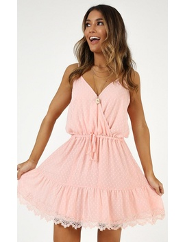 La Parisienne Dress In Blush by Showpo Fashion