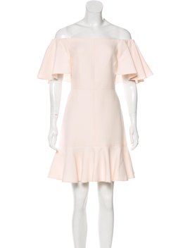 Off The Shoulder Mini Dress by Valentino
