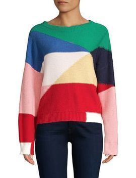Megu Colorblock Knit Pullover by Joie