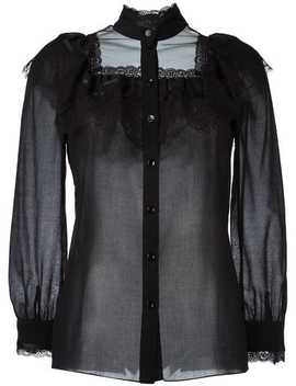 70's Folk Blouse by Saint Laurent
