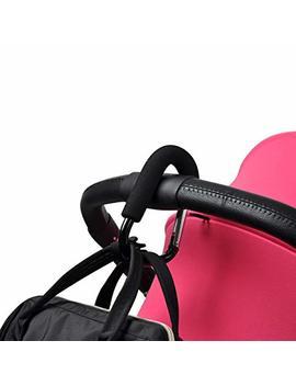 Bebamour Large Buggy Clips For Pram Handy Stroller Hook For Nappy Changing Bag by Bebamour