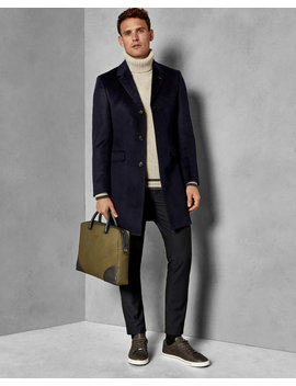 Endurance Cashmere Overcoat by Ted Baker
