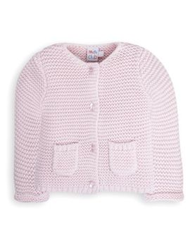 Mini Club Baby Knitted Cardigan Pink by Mini Club