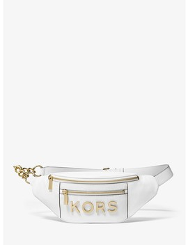 Medium Embellished Leather Belt Bag by Michael Michael Kors