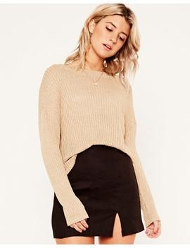 Marled Long Sleeve Top by Glassons