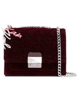 Square Shaped Crossbody Bag by Karl Lagerfeld