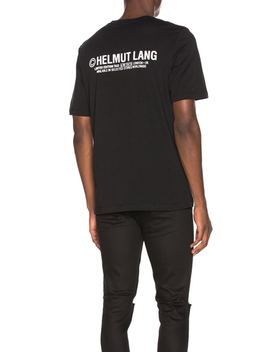 Taxi Projekt London T Shirt by Helmut Lang