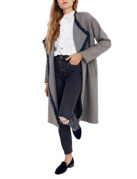 Fringe Herringbone Robe Coat by Madewell