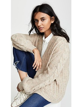 Sally Cable Cardigan by Madewell