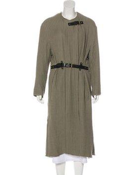 Isabel Marant Belted Long Coat by Isabel Marant