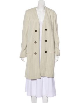 Isabel Marant Collarless Structured Coat by Isabel Marant