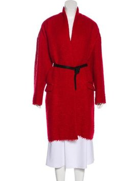 Isabel Marant Virgin Wool Blend Long Sleeve Coat by Isabel Marant