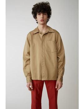 Workwear Shirt Sand Beige by Acne Studios