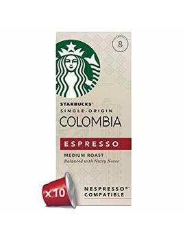 Starbucks Colombia Espresso Capsules, Nespresso* Compatible(Pack Of 12,Total 120 Capsules) by Starbucks
