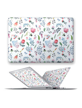Hard Front Case Cover For Apple Mac Macbook Air Pro Touchbar 11 12 13 15 Flower by Unbranded/Generic