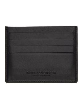 Black Krio Cardholder by Tiger Of Sweden