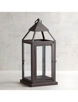 Landen Medium Black Metal Lantern by Pier1 Imports