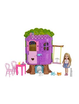 Barbie Chelsea Doll And Treehouse by Barbie