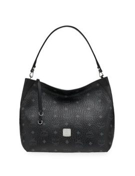 Medium Klara Visetos Hobo Bag by Mcm