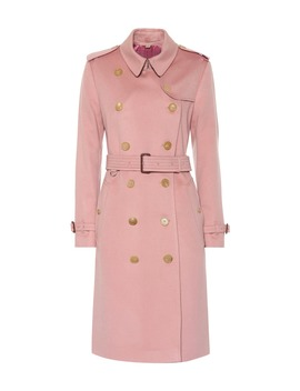 Cashmere Trench Coat by Burberry