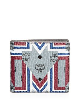 Stark Gunta Visetos Tk Bi Fold Wallet by Mcm