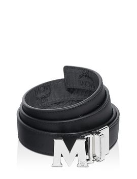 Visetos Logo Reversible Belt by Mcm